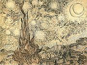 Pen drawing by van Gogh, executed after the painting