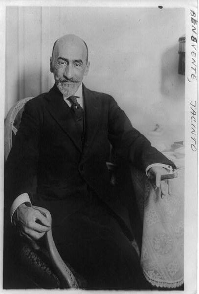 Jacinto Benavente (Spain, 1866-1954)