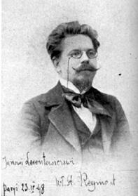 Wladyslaw Stanislaw Reymont (Poland, 1867 to 1925)