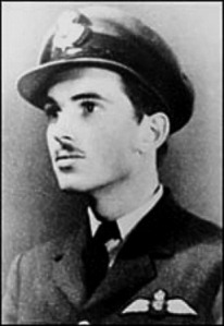 """John Gillespie Magee (1922-1941), American who flew for the Royal Canadian Air Force in WW2. In a letter to his parents, he wrote about this poem, """"I am enclosing a verse I wrote the other day. It started at 30,000 feet, and was finished soon after I landed."""""""