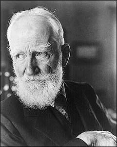 George Bernard Shaw (Ireland, 1856-1950)